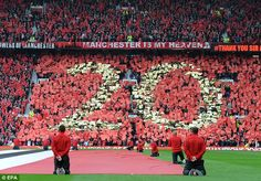 Manchester United fans show the world just how many titles they have won