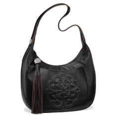 We adapted our much lauded Ferrara medallion to the it-silhouette of the momentt, the Silvana Hobo. #BrightonCollectibles