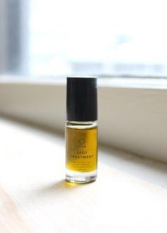 Acne Spot Treatment Roll-On Hemp & Neem Oil by LilaBotanicals