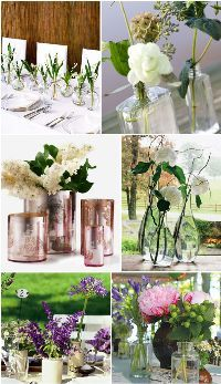 Inexpensive ideas for your reception and aisle decor
