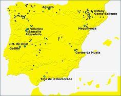 Centrales #hidroeléctricas en España