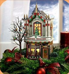 Christmas Treasures NEW Department Dept 56 Christmas In The City Village D56 CIC