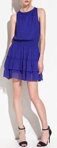 Great Graduation Dresses: Dress with Frilled Skirt, Zara