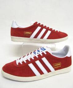 Adidas-Gazelle OG University Red/White