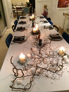 New years table , natur, Birch