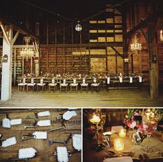I love this site for southern california wedding inspiration...awesome! Also, love these keys, cute!