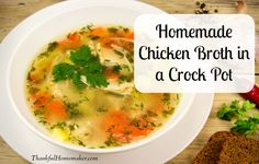 Makinghomemadebroth was notsomethingwe did in my family. I must have been born in the generation when Swanson's canned broth was a new item on the shelf. My first introduction to making my own broth and the benefits of it was through a favorite cookbook called Nourishing Traditions by Sally Fallon. Homemade broth is a rich …