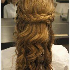 Braid & soft curls