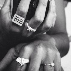 Bones Drugs Thugs, T Rex, Elephant & Gem Rings!! At www.iheardtheyeatcigarettes.com xxx #jewelry #jewellery #boho #hippy #hippie #gypsy  #love Thanks To @vanillaattack for the pic xxx
