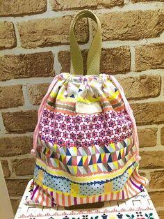体操服入れ袋の簡単な作り方!裏地なし持ち手付で幼稚園&小学校に | 春夏秋冬を楽しむブログ