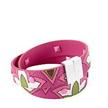 Studded Wrap Bracelet in Petite Pink | Vera Bradley