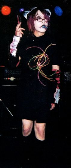 fuck this is old Ruki. The GazettE