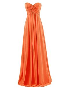 Dresstells® Sweetheart Bridesmaid Chiffon Prom Dresses Long Evening Gowns for Juniors Size 6 Orange Dresstells http://www.amazon.com/dp/B00H5IJLW8/ref=cm_sw_r_pi_dp_06sDvb0X7V4B4