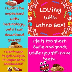 A little humor to start your day! Have a great Tuesday! Latino Box ~ A taste of Latin America. LatinoBox.net 🍫🍪🍫🍪🍫🍪🍫🍪🍫🍪🍫🍪🍫 #latinobox #subscriptionbox #snack #snacks #latino #latina #latinosenusa #foodporn #snackporn #snackers #treats #candy #cookies #chips #yummy #yum #tbt #instagood #instasnack #instadaily #lovesnacks #unboxing #subscriptionboxes #subscribe #jb #nom #nomnom #delicia #delicious #funny