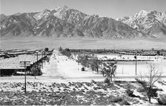 Ansel Adams, Manzanar from a guard tower, a supplementary text in this module