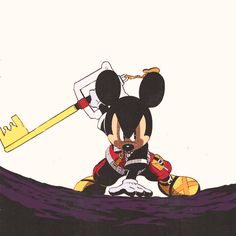 Kingdom Hearts Mickey