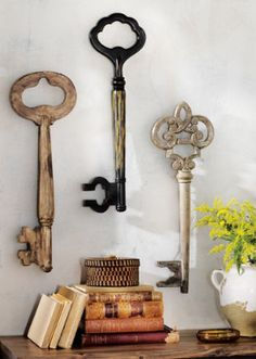 Large Antique Skeleton Key Fancy Bit Rare By AntiqueVintageKeys
