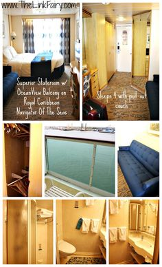 Superior Stateroom with Ocean View Balcony on Royal Caribbean Navigator Of The Seas. Have kids? Going on a #cruise ? Check out these Do's and Don'ts from a cruising Mom! #travel #NavigatorOfTheSeas @RoyalCaribbeanInternational