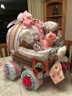 Baby shower bassinet