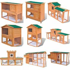 The easy-climb ladder leads from the lower ground level to the upper floor. And the doors close easily. This wooden rabbit cage is perfect for small pets. This spacious wooden rabbit cage is perfect for small pets. Guinea Pig Hutch, Bunny Hutch, Guinea Pigs, Guinea Pig House, Rabbit Cages Outdoor, Outdoor Rabbit Hutch, House Rabbit, Pet Rabbit, Wooden Rabbit