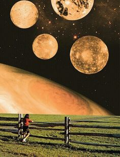 View of the planets