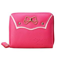 Wallets brands women candy color bowknot short wallet girls cute zipper purse card holder coin bags #$2 #wallets #4x4 #wallets #6 #wallets #that #earn #big #on #style #wallets #house #of #fraser