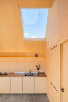 Gallery of Field House / Lookofsky Architecture - 24 Skylight Design, Swedish House, Roof Light, Architecture Photo, House Architecture, Small House Design, Prefab Homes, Large Windows, Apartment Interior