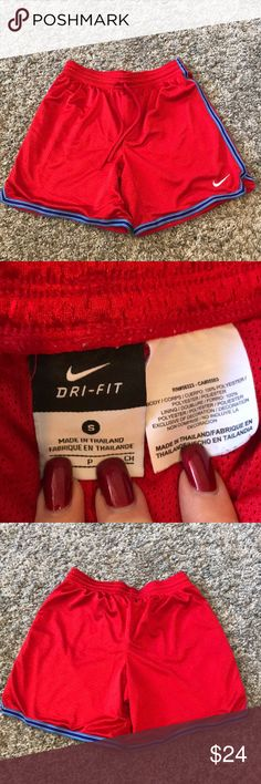 """Nike Women's Athletic Basketball Workout Shorts Great condition! Waist-14"""" Reasonable offers accepted! Reasonable offers accepted! Bundle for a private discount! Nike Shorts"""