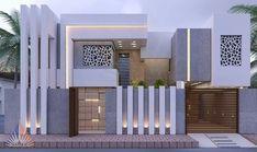 Small House Design, Modern House Design, Colour Combo, Front Elevation, Home Design Plans, Small House Plans, Facade, Asia, Villa