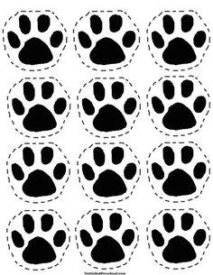 Going on a Bear Hunt Picnic Paw Print Pattern I Nuttin but Preschool