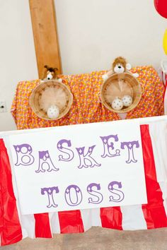 Carnival/Circus Birthday Party Ideas | Photo 7 of 23 | Catch My Party