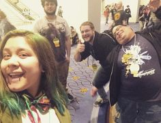 We waited for a panel at 2am that we were under the impression was of a man eating cereal. Only to be sorely disappointed because it was just a very heated debate about cereal #magfest2016 #panel4 #cereal by burjacque