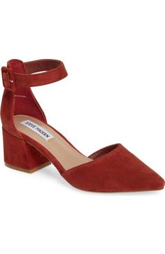 Steve Madden Dainna d'Orsay Ankle Strap Pump (Women) available at #Nordstrom