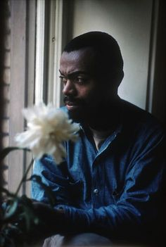 Burt GLINN :: . Leroi JONES [aka Amiri BARAKA], one of the original Beat poets and controversial for his extreme political views, at his home in Newark, New Jersey, 1959