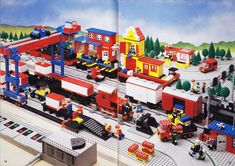 The 80-page 7777 Trains Ideas Book was a fantastic resource for LEGO train fans when it was first published in 1981 and remains so today. In this article I take a look at the wealth of ideas and inspirational photographs within it as well as the impact it had on my childhood.