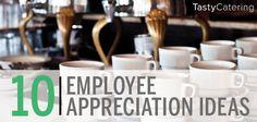 10 Employee Appreciation Ideas