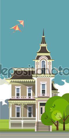 строительство города - Векторная картинка: 64387785