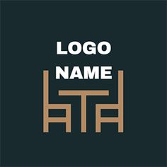 DesignEvo's furniture logo maker enables you to create great furniture logos on your own easily! All of its powerful features are free! Bedroom Furniture Design, Furniture Logo, Retro Furniture, Drawing Furniture, Showroom Interior Design, Modern Logo Design, Logo Maker, Logo Ideas, Carpenter