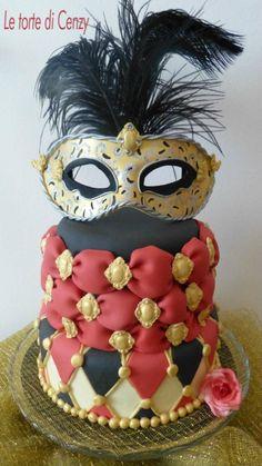 Maschera veneziana | Cake