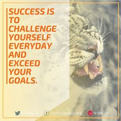 Success is to challenge yourself everyday and exceed your goals. #success #goals #yycentrepreneur #yyc #yyclife #yvrlife #canada #canada #business #businessowner #businessman #authorsofinstagram #author #authorlife #authorslife