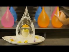 MAGICAL ICE DROP PANNA COTTA DESSERT RECIPE How To Cook That Ann Reardon - YouTube