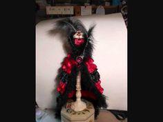 alter dressform, black alter, red black