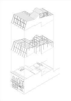 Imagen 12 de 12 de la galería de Casa Blas / Adamo Faiden. Diagrama