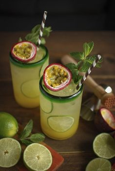 Mint and rum passion fruit cocktail . CLICK Image for full details Mint and rum passion fruit cocktail . Cocktail Fruit, Rum Punch Cocktail, Cocktail Recipes, Passionfruit Cocktail, Punch Drink, Fruit Punch, Margarita Recipes, Smoothie Recipes, Smoothies