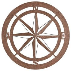 Take your garden in a new direction. Our classic iron compass can be displayed indoors or out—anywhere artisan design, painted finish and oversized dimensions can make a huge impact. In fact, we'd almost say that you couldn't find a more charming wall accent north, south, east or, well, you know.