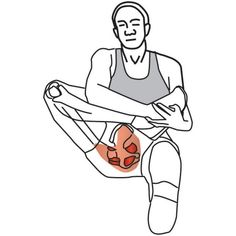 Trigger Point Therapy - Stretching for Piriformis Syndrome – Niel Asher Education Hip Stretching Exercises, Hip Flexor Exercises, Hamstring Muscles, Scoliosis Exercises, Back Pain Exercises, Sciatica Stretches, Sciatica Symptoms, Hip Muscles, Sciatic Pain