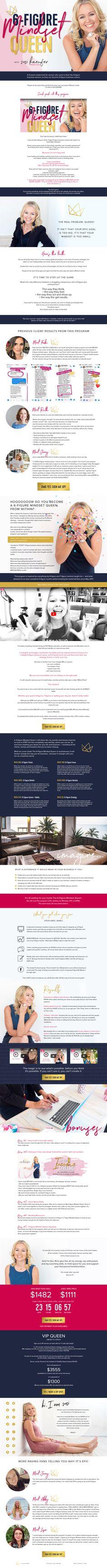 www.dreamlifedeluxe.com/6-figure-mindset-queen/ Personal Branding, Page Design, Mindset, Branding Design, Queen, Website, Attitude, Corporate Design, Identity Branding