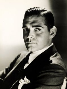 Clark Gable, 1934 - Rhett Butler himself!!