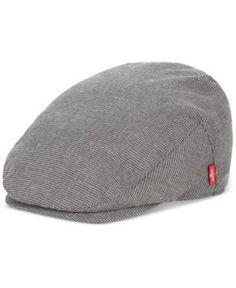 Levi's Men's Micro-Plaid Driving Cap - Gray ...
