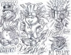 Image result for boog tattoo flash
